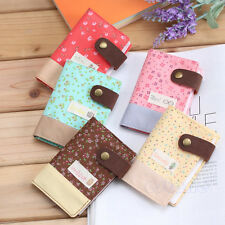 Hot Slot Floral Credit ID Card Wallet Purse Holder Pouch Coin Storage Bag New