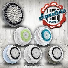 2 Replacement Facial Brush Heads for Clarisonic Mia Aria Pro Plus Acne Pore Norm