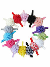 Cut Lovely Baby Kids Girls Elastic Lace Flower Hairband Headband Hair Head Band