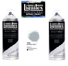 Liquitex Professional Spray Paint Neutral Grey 7 Aerosol Can 400ml