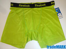 MENS REEBOK PERFORANCE SILKY BOXER BRIEF GREEN