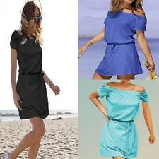 NEW! Victoria Secret Off-the-shoulder Tee dress Bech Cover up Dress Clearance