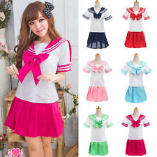 School Girl Japanese Students Sailor Lingerie Sexy Uniform Outfit Cosplay Dress