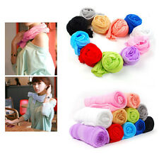 Girls Women's Fashion Candy Colour Long Soft Scarf Wrap Shawl Stole Hot Sell