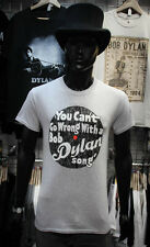 BOB DYLAN Official Uni-Sex Tee Shirt Various Sizes CAN'T GO WRONG New