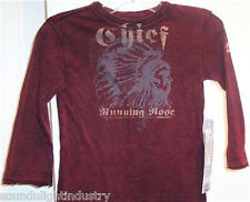 KINGSLEY CHIEF RUNNING NOSE SHIRT 12-18 MONTHS TODDLER TEE *NWT* INDIAN CHIEF