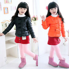 Hot Baby Snowsuit for 2-10 Years Kids Girls Winter Coats Outdoor Warm Jackets