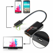 Micro USB Slim Port MyDP To HDMI 1.4 HDTV Cable Adapter for LG G3 G2 Nexus 5 7 2
