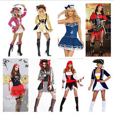 New Adult Women's Halloween Costume Pirate Theme Party Stage Cosplay Fancy Dress