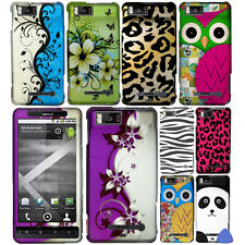 Hard Protector Case Cover For Motorola Droid X MB810 MB870 Phone, Vines + Tool