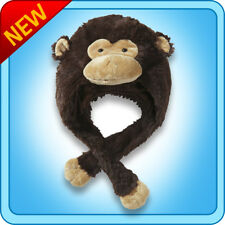 Authentic Pillow Pets Silly Monkey Hat Plush Toy Gift