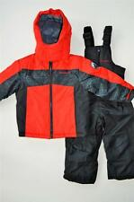 NWT Boys 2T 3T 4T Weatherproof 2-piece Snowsuit Jacket Fleece bib pants $90 New