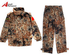 Chinese PLA Tibetan Camo Airsoft Tactical Military BDU Uniform Shirt + Pants