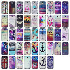 Bekoo- For Samsung Galaxy SIV S4 i9500 Printed Design Plastic Protect Case Cover