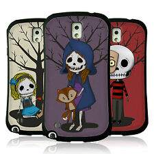 HEAD CASE SKULL KIDS HYBRID GEL BACK COVER FOR SAMSUNG GALAXY NOTE 3 N9002