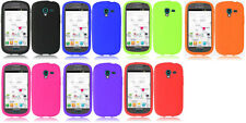 Silicone Cover Case for Samsung Galaxy Exhibit (2013) SGH-T599 T599 T599N Phone