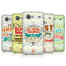 HEAD CASE WEDDING VOWS PROTECTIVE COVER FOR SAMSUNG GALAXY S ADVANCE I9070