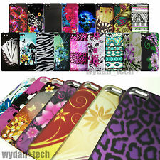 Vibrant Design Case 2-Piece Fitted Hard Covers For Apple iPhone 6 5S 5C 4S