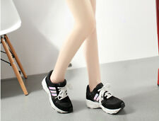 New Comfort Girl Sport Shoes Flange Slope With Shoes Running Autumn Winter Shoes