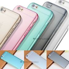 "Thin All Clear Soft TPU Case Cover Skin For Apple 4.7"" iPhone 6 + Screen proctor"