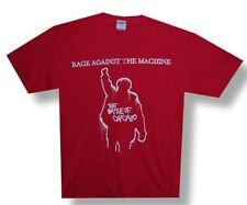 Rage Against The Machine-Battle of Chicago-Red T-shirt