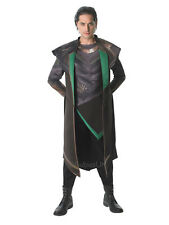 Adult Marvel Thor 2 Loki Avengers Initiative Outfit Fancy Dress Costume Movie