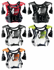 2015 Thor MX Adult Quadrant Chest Protector Roost Guard Motocross Dirt Bike