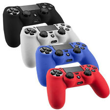 Silicone Rubber Soft Skin Gel Cover Case for Playstation 4 PS4 Controller NEW
