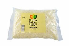 500g Beeswax Pellets - WHITE or YELLOW Pure Natural Cosmetics Grade