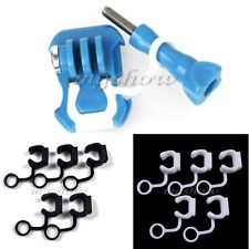 5 Pcs Silicone Rubber Locking Vibration Plug For GoPro Hero 1 2 3 3+ Accessories