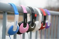 Over Ear Stereo Headphones with in-line Volume Control Transit Stereo Headphone