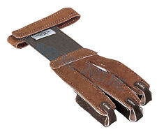 New Neet Leather Archery 3 Finger Shooting Glove Tab Recurve Bow