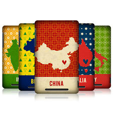 HEAD CASE PRINTED COUNTRY MAPS PROTECTIVE COVER FOR ASUS GOOGLE NEXUS 7