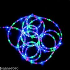 9m ROPE LIGHTS LIGHT MULTI-ACTION CHRISTMAS DECORATION DISCO INDOOR OUTDOOR