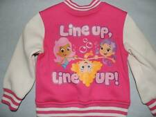 BUBBLE GUPPIES PINK JACKET SIZE 2T 3T 4T NEW!