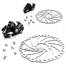 Front/Rear Disc Brake Kit for Mountain Road Bicycle Bike Durable Aluminium Alloy