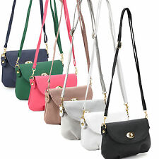 Ladies Small Satchel Leather Handbag Crossbody Shoulder Messenger Totes Bags