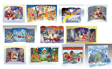 Luxury 3D Christmas Advent Calendars Calendars 30 x 22 plus - free post in UK