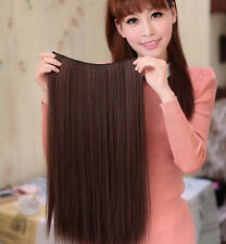 Women Girls Lifelike Full Straight Hair Wig Sexy Long Fashion Wigs Brand New Hot