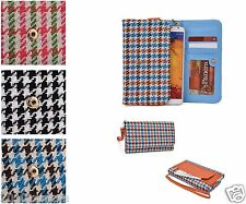 Kroo Posh Universal Old Fashion Diva Safety Sew Wallet Hand Bag Cover for Mobile