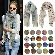 Fashion Women's Chiffon Soft Scarves Long Wraps Shawl Winter Beautiful Scarf