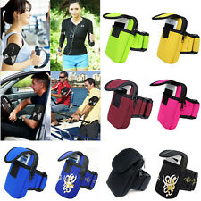 Outdoor Sports multicolor Wrist Arm Bag Mobile Phone Key Package Coin Purse