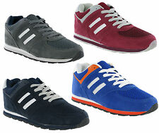 New Mens Casual Joggers Lace Up Sports Trainers Shoes Size 7-15 UK RRP £25