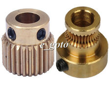 Feedstock Wheel Extruder Gear Hobbed Gear Drive Gear 5mm for Reprap 3D printer