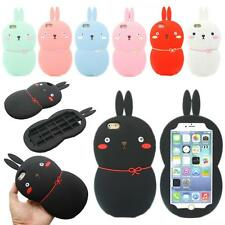 3D Cute Rabbit Bunny Soft Silicone Gel Cover Case for Apple iPhone 6 Plus 5.5""
