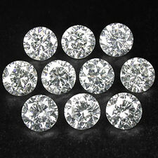 10 Pcs Set VS Quality 100% Natural Diamonds Select From G/H Color