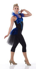 Victorian Contemporary Ballet Jazz Tap Acro Dance Costume Bustle Child & Adult