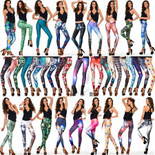 2014 Sexy Women Leggings 3D Variety Graphic Galaxy Printed Tights Pants Yoga Gym