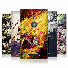 HEAD CASE FLORAL DRIPS GEL SKIN BACK CASE COVER FOR NOKIA LUMIA 925