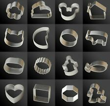 36 Shapes Buscuit/Cookie/Cake/Jelly Metal Cutter Tin Mould Baking DIY Tool  FACA